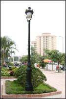 cột đèn trang trí dc05b