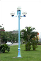 Cột đèn chiếu sáng trang trí nouvo