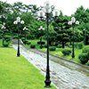 Cột đèn sân vườn BANIAN LT07