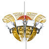 Cột đèn nâng hạ NH-TULIP | HAPULICO INDUSTRY.,JSC