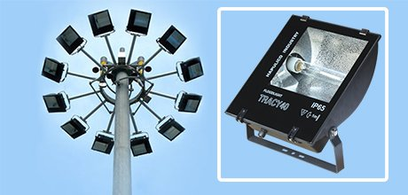 Đèn pha cao áp TRACY 150W 250W 400W