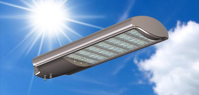 Đèn led đường phố 270W 285W 300W INEZ9-7M48