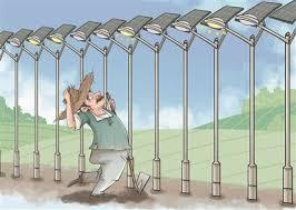 Chuyện lạ về khoảng cách cột đèn đường ở Trung Quốc