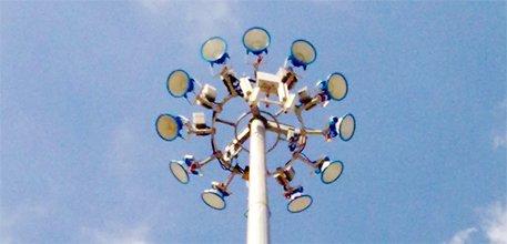HIGH MAST LIGHTING POLES | HIGH MAST LIGHTING TOWERS