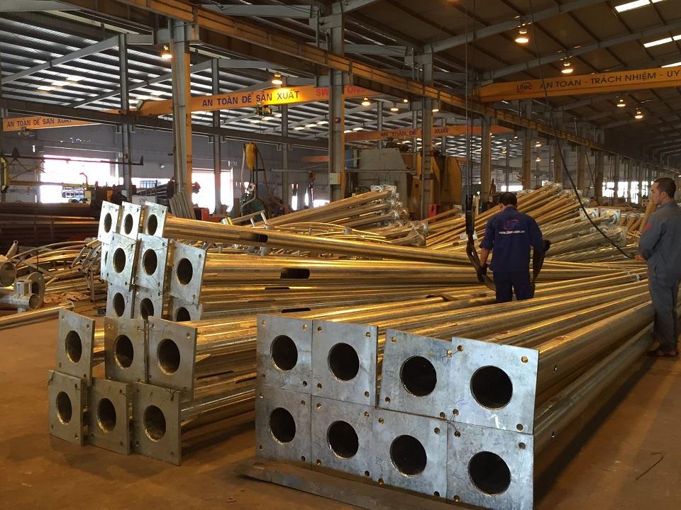 Xưởng sản xuất cột đèn chiếu sáng